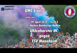 UHC Live – UHC vs. TSVM – 29.04.2018 14.30 h