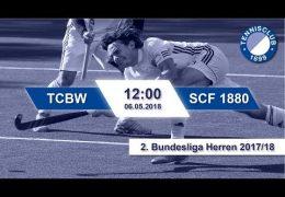 TC 1899 Blau-Weiss – TCBW vs. SCF 1880 – 06.05.2018 12.00 h