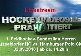 hockeyvideos.de – DHC vs. HPC – 02.09.2018 14:30 h