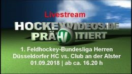hockeyvideos.de – DHC vs. DCADA – 01.09.2018 16:30 h