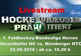 Hockeyvideos.de – DHC vs. NHTC – 22.09.2018 16:30 h