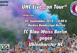UHC Live – TCBW vs. UHC – 02.09.2018 14:00 h