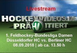 Hockeyvideos.de – DHC vs. BHC – 08.09.2018 14:00 h