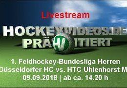 Hockeyvideos.de – DHC vs. HTCU – 09.09.2018 14:30 h