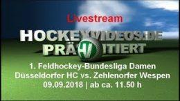 Hockeyvideos.de – DHC vs. Wespen – 09.09.2018 12:00 h
