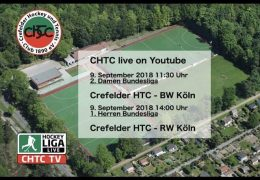 chtc TV – CHTC vs. RWK – 09.09.2018 14:00 h