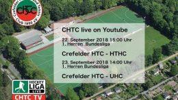 chtc TV – CHTC vs. UHC – 23.09.2018 14:00 h
