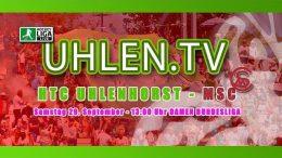 UHLEN.TV – HTCU vs. MSC – 29.09.2018 13:00 h
