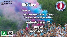 UHC Live – UHC vs. BHC – 29.09.2018 13:00 h