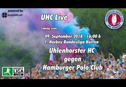 UHC Live – UHC vs. HPC – 09.09.2018 16:00 h