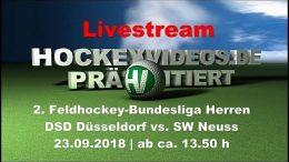Hockeyvideos.de – DSD vs. SWN – 23.09.2018 14:00 h