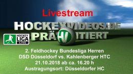 Hockeyvideos.de – DSD vs. KHTC – 21.10.2018 16:30 h