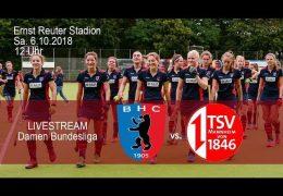 BHC Hockey-Bundesliga – BHC vs. TSVM – 06.10.2018 12:00 h