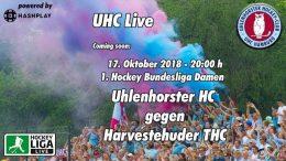 UHC Live – UHC vs. HTHC – 17.10.2018 20:00 h