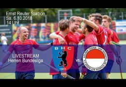 BHC Hockey-Bundesliga – BHC vs. RWK – 06.10.2018 14:00 h