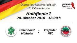 UHC Live – Jugend DM – MJA Endrunde – HTCU vs. CHTC – 20.10.2018 12:00 h