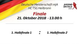 UHC Live – HTCU vs. UHC – Jugend DM – MJA Finale – 21.10.2018 13:00 h