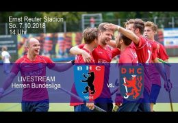 BHC Hockey-Bundesliga – BHC vs. DHC – 07.10.2018 14:00 h