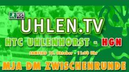 UHLEN.TV – Jugend DM – MJA Zwischenrunde – HTCU vs. HGN – 13.10.2018 11:00 h