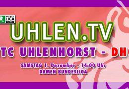 UHLEN.TV – HTCU vs. DHC – 01.12.2018 14:00 h