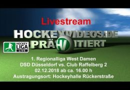 Hockeyvideos.de – DSD vs. CR 2 – 02.12.2018 16:00 h