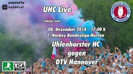 UHC Live – UHC vs. DTV – 08.12.2018 17:00 h