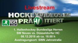 hockeyvideos.de – SWN vs. DHC – 08.12.2018 18:00 h