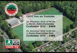chtc TV – CHTC vs. SWN – 02.12.2018 12:00 h
