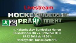 Hockeyvideos.de – DHC vs. CHTC – 15.12.2018 16:30 h