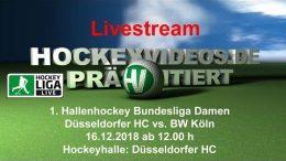 Hockeyvideos.de – DHC vs. BWK – 16.12.2018 12:00 h