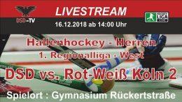 DSD-TV – DSD vs. RWK2 – 16.12.2018 14:00 h