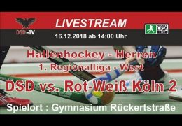 DSD-TV – DSD vs. RWK2 – 16.12.2018 14:00 h
