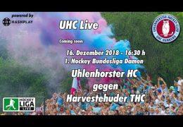 UHC Live – UHC vs. HTHC – 16.12.2018 16:30 h