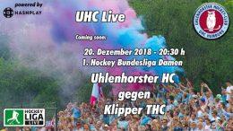 UHC Live – UHC vs. KTHC – 20.12.2018 20:30 h