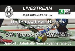 HTC Schwarz Weiß Neuss – SWN vs. BWK – 09.01.2019 20:30 h