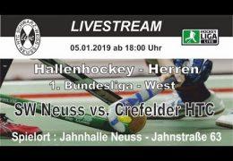 HTC Schwarz Weiß Neuss – SWN vs. CHTC – 05.01.2019 18:00 h