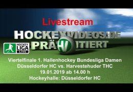 Hockeyvideos.de – Viertelfinale -DHC vs. HTHC – 19.01.2019 14:00 h
