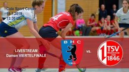 BHC Hockey-Bundesliga – Viertelfinale – BHC vs. TSVM – 19.01.2019 13:30 h