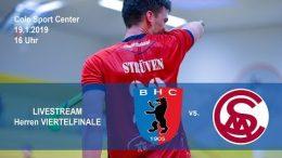 BHC Hockey-Bundesliga – Viertelfinale – BHC vs. MSC – 19.01.2019 16:00 h