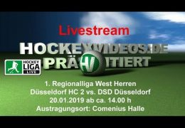 Hockeyvideos.de – DHC vs. DSD – 20.01.2019 14:00 h