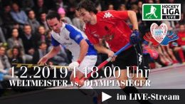Hockey gegen Krebs – Weltmeister vs. Olympiasieger – 01.02.2019 ab 18:00 h