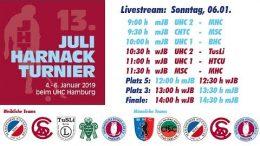 UHC Live – 13. Juli Harnack Turnier – wJB/mJB – Sonntag, 6. Januar 2019