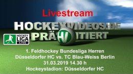 Hockeyvideos.de – DHC vs. TCBW – 31.03.2019 14:30 h