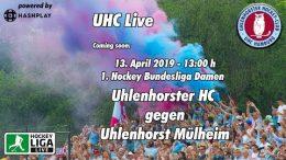 UHC Live – UHC vs. HTCU – 13.04.2019 13:00 h