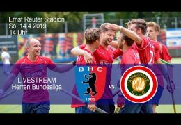 BHC Hockey-Bundesliga – BHC vs. HPC – 14.04.2019 14:00 h