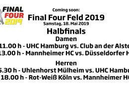 CHTC TV – Final Four Feld 2019 – Halbfinals