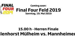 CHTC TV – Re-Live Finale Herren – HTCU vs. MHC – 19.05.2019 15:00 h