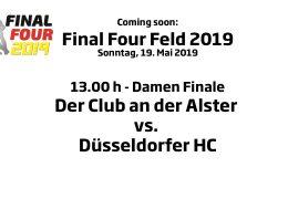 CHTC TV – Finale Damen – DCadA vs. DHC – 19.05.2019 12:00 h