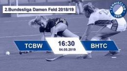TC 1899 Blau-Weiss – TCBW vs. BHTC – 04.05.2019 16:30 h