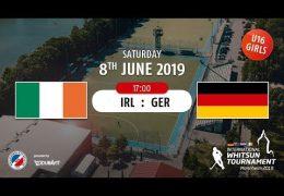 MHC TV – weibliche U16 – GER vs. IRL – 08.06.2019 17:00 h